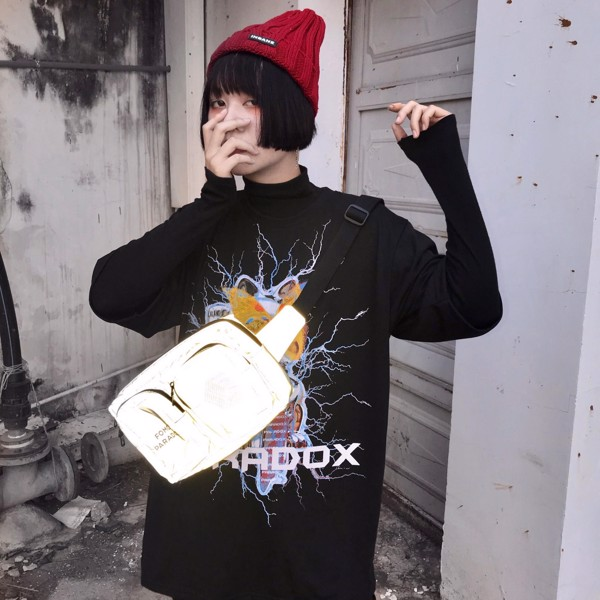 'PSYCHICS' REFLECTIVE WAIST BAG