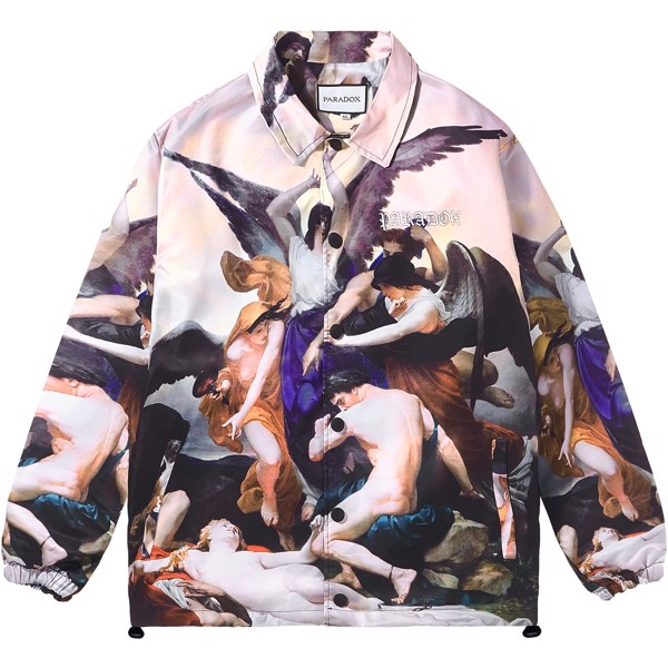 RIVALRY OVER-PRINTED JACKET