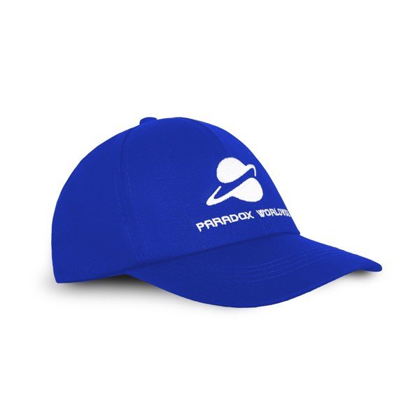 UNIVERSAL CAP (DEEP BLUE) - WHITE-WORDING
