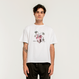 ROSEN HEART T-SHIRT/WHITE