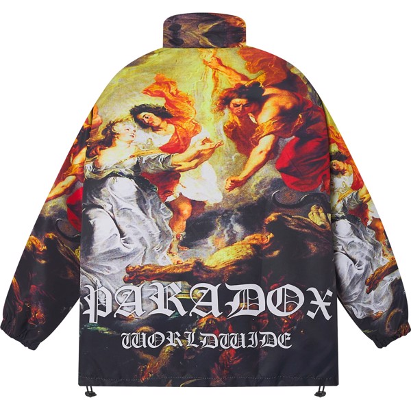 ASSEMBLY ZIP OVER-PRINTED JACKET