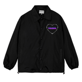 KILL THIS LOVE OVER-PRINTED JACKET (Black)