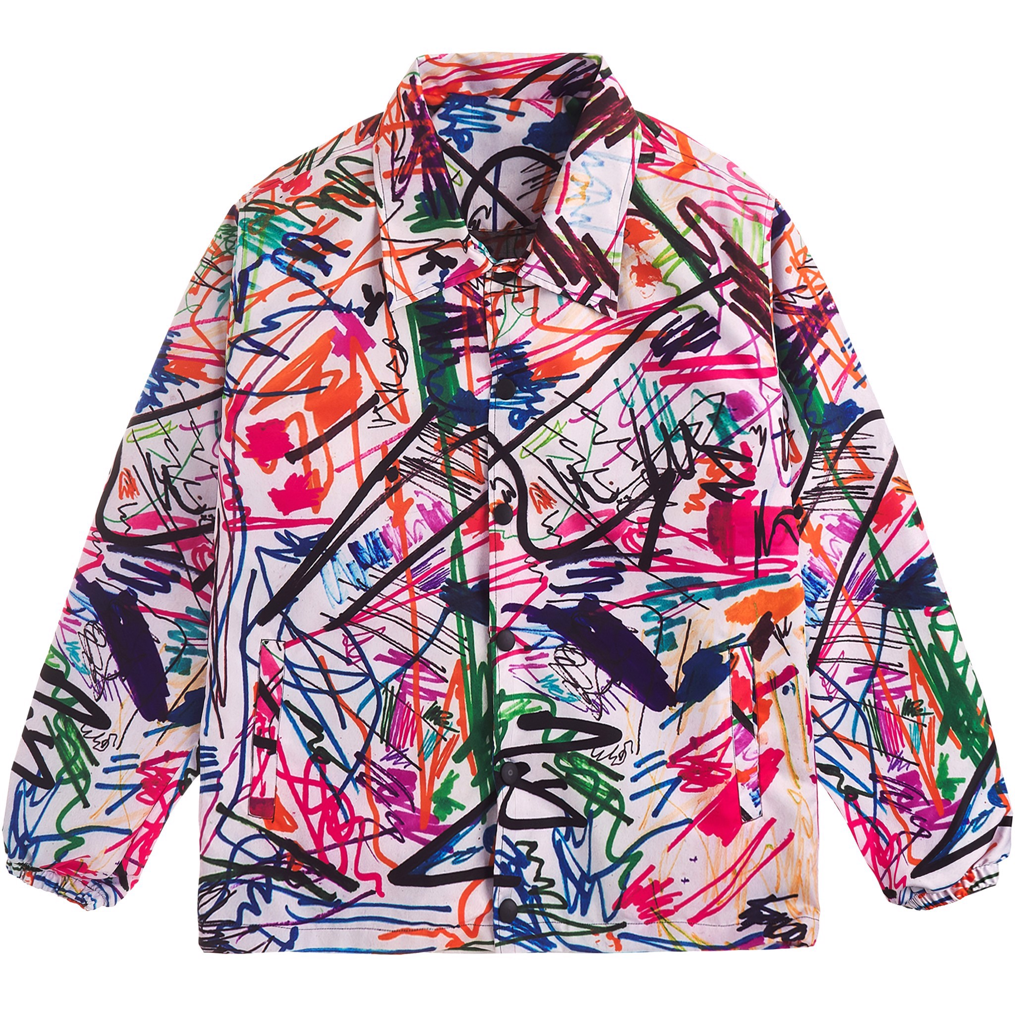 COCOGRAPHY OVERPRINTED JACKET