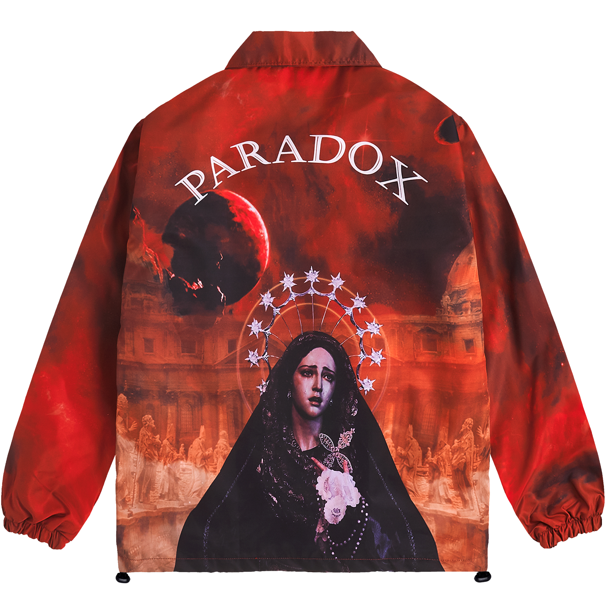 DEAD PLANET OVER-PRINTED JACKET