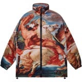 FLY MAN ZIP OVER-PRINTED JACKET