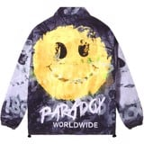 GRAFFITI ART OVER-PRINTED JACKET