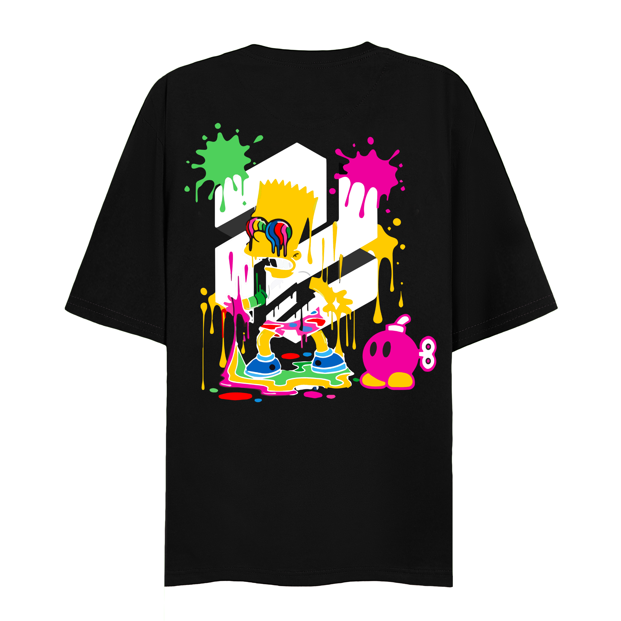 ILLUSIMPSON TEE (Black)