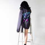 THAWING OVER-PRINTED JACKET (Black)