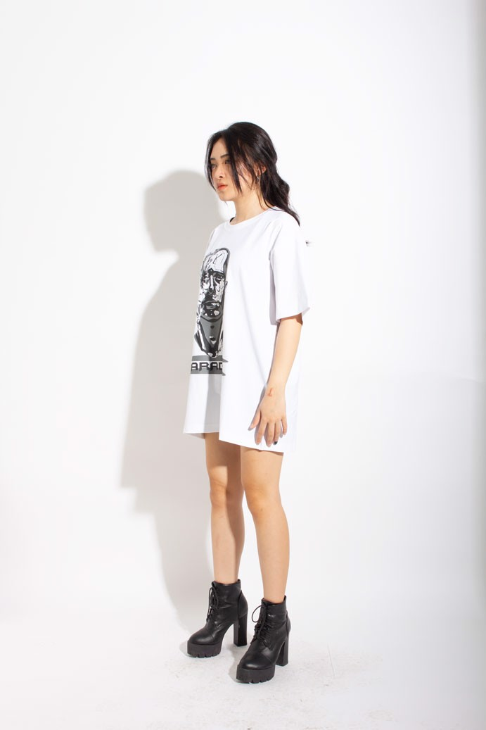 DEMOLISHED TEE (White)