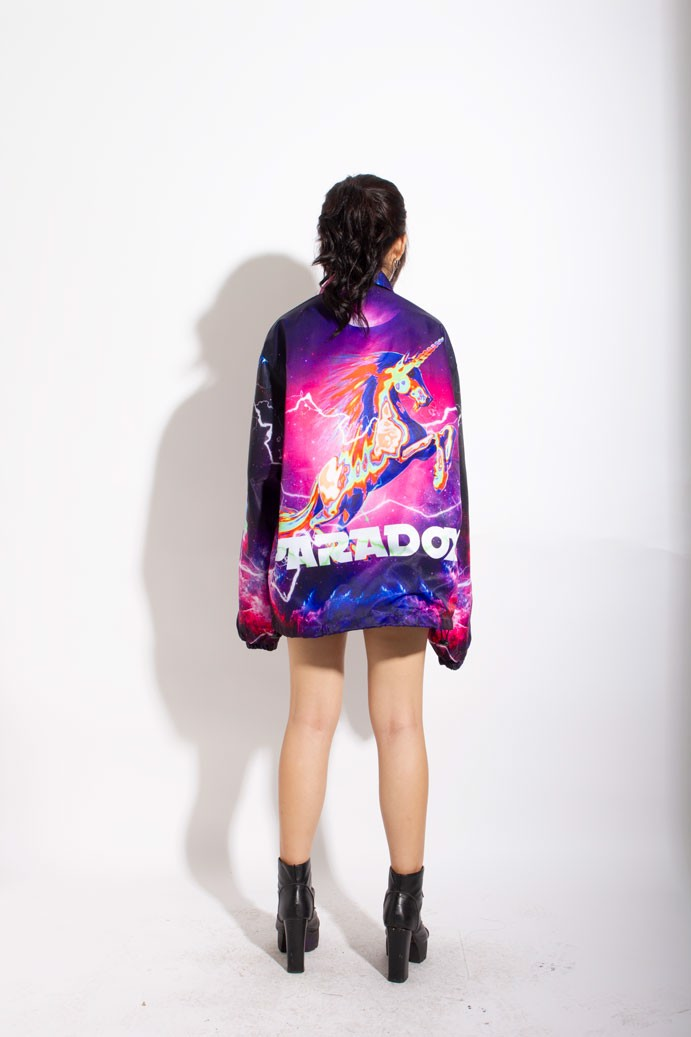 COSMO OVER-PRINTED JACKET