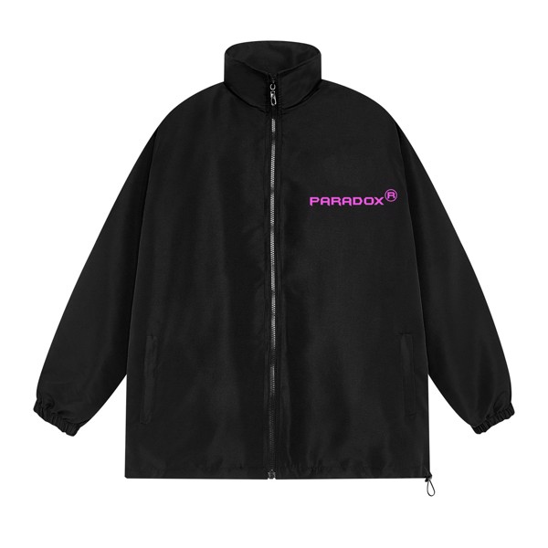 LOGO IMPRINT NO.1 ZIP JACKET (Pink)