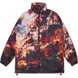 MULTITUDE ZIP OVER-PRINTED JACKET