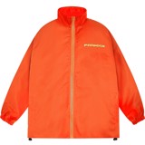 PARROT LOGO ZIP OVERPRINTED JACKET (Orange)