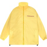 PARROT LOGO ZIP OVERPRINTED JACKET (Yellow)