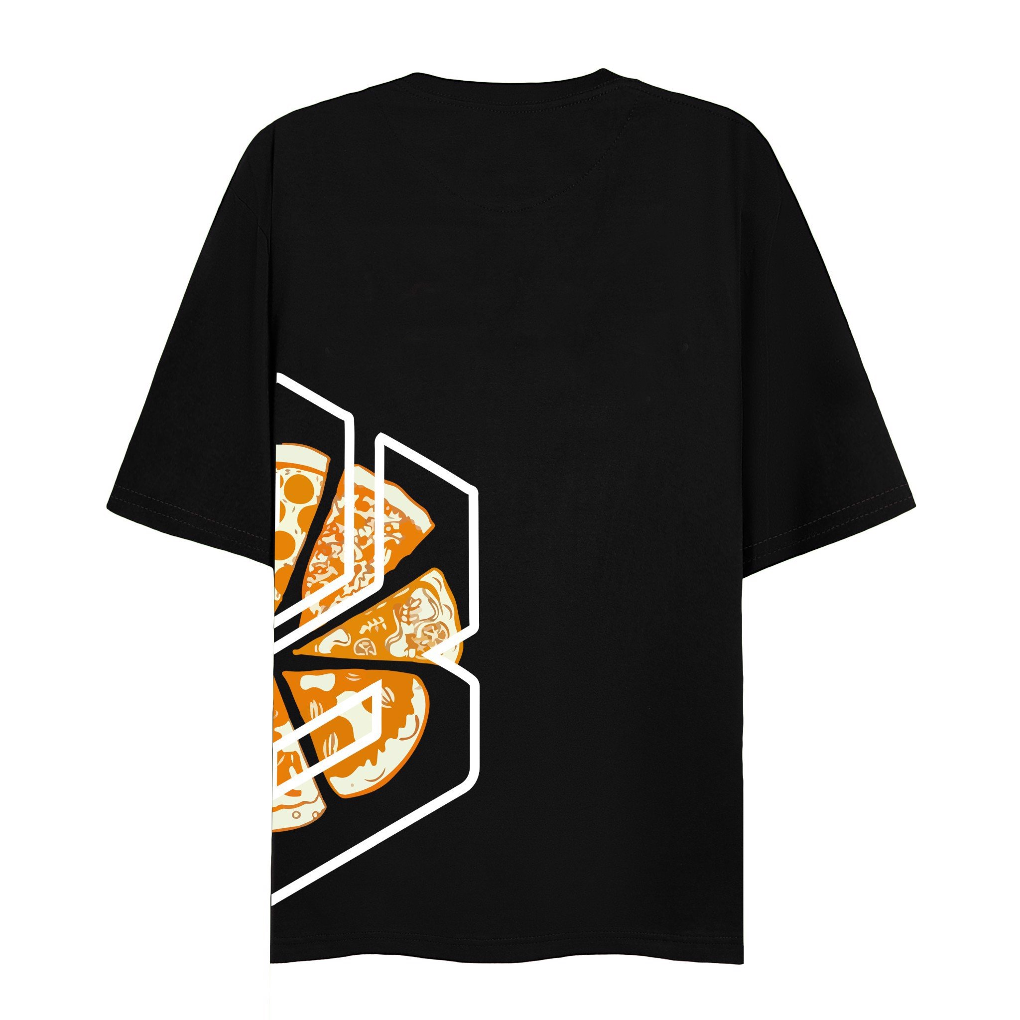 PIZZA FEAST TEE (Black)