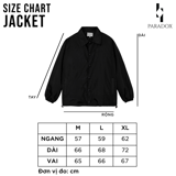PARROT LOGO OVER-PRINTED JACKET (Black)