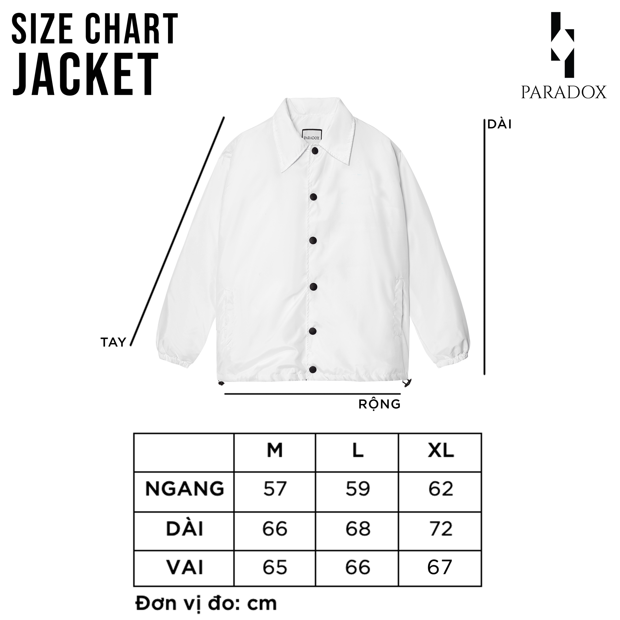 HERD OVER-PRINTED JACKET (White)