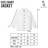 ROCHICK OVER-PRINTED JACKET (White)