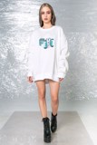 MELANCHOLY SWEATER/WHITE