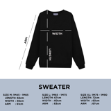 SUCCOR SWEATER (Black)