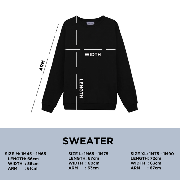 LUMINOUS SWEATER (Black)