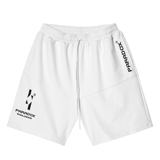 SIGNATURE SHORT-WHITE (Black-Wording)