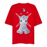 UNICORN GOT LOVED TEE (Red)