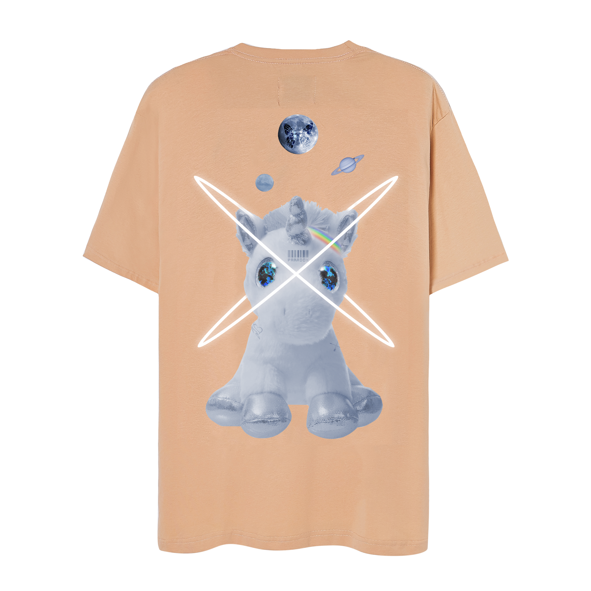 UNICORN GOT LOVED TEE (Beige)