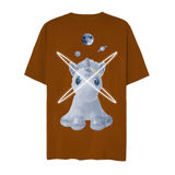 UNICORN GOT LOVED TEE (Brown)