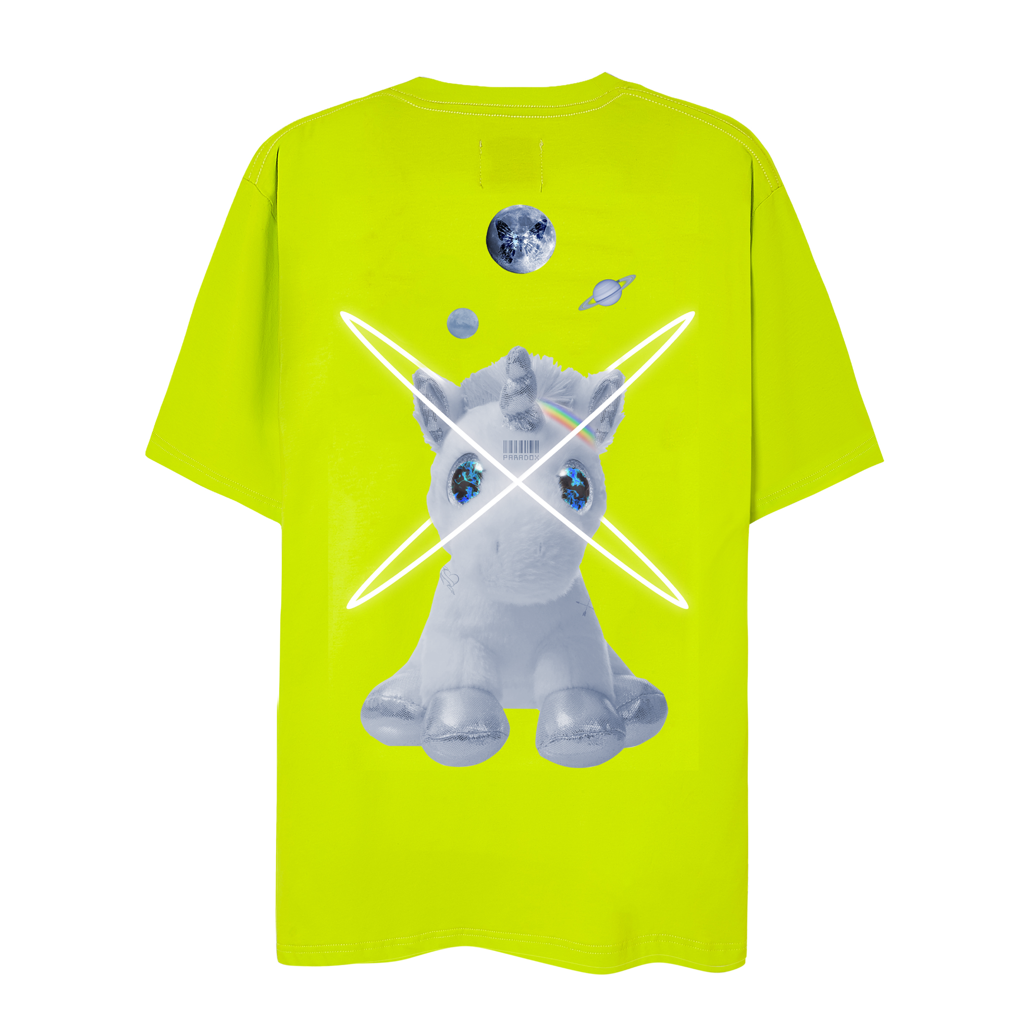 UNICORN GOT LOVED TEE (Neon)
