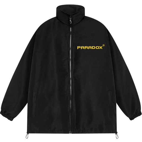 YELLOW SIMPER LOGO ZIP JACKET