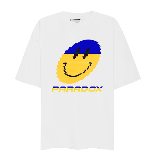 GRINNING NO.1 TEE (White)