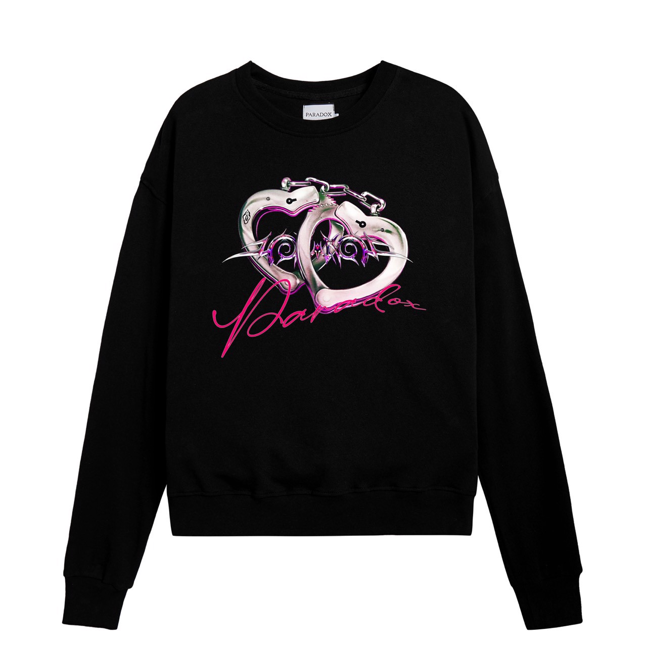 LOVE HANDCUFFS SWEATER (Black)