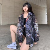 KNIGHT OVER-PRINTED JACKET