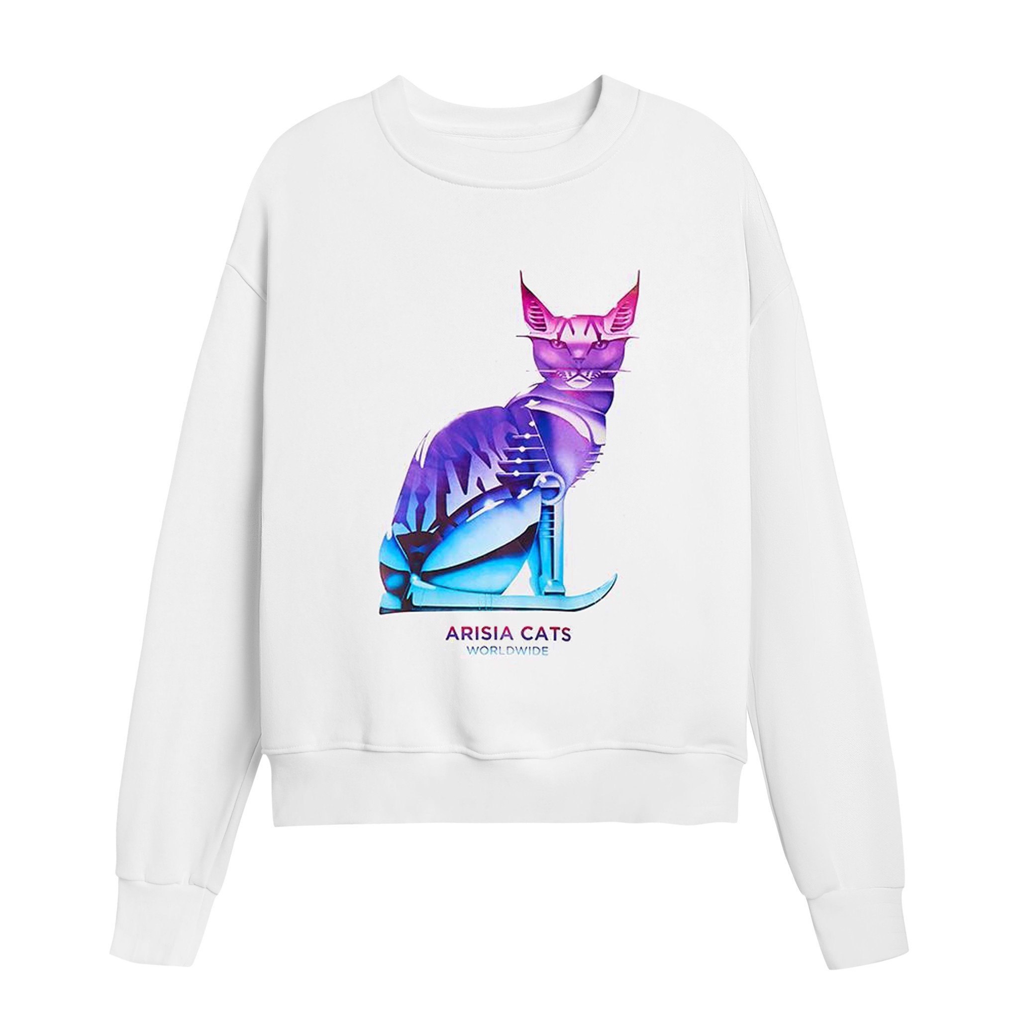 ARISIA CATS SWEATER (White)