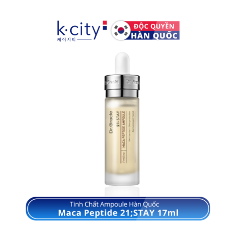 Tinh Chất Ampoule Hàn Quốc Maca Peptide 21STAY 17ml