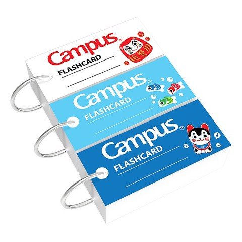 Thẻ Flashcard Campus size M (90x54mm)