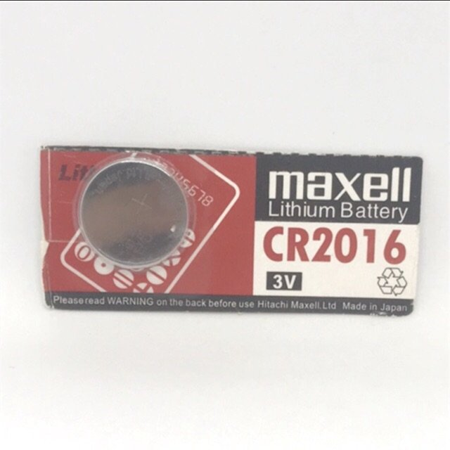 Pin CR2016 Maxell 3V