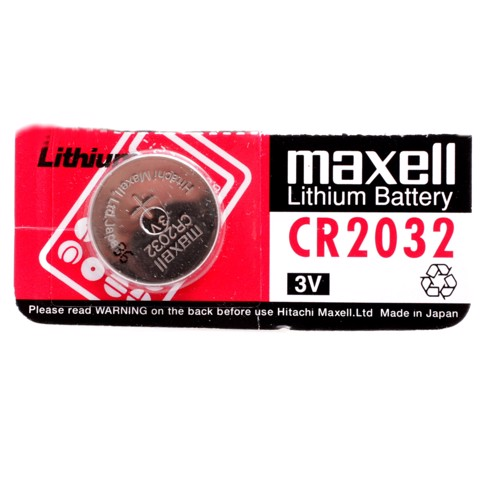 Pin CR2032 3V Maxell