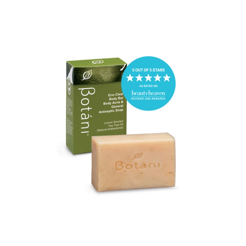 Soap Kháng Khuẩn & Trị Mụn Body - Botani Eco Clear Body Bar Body Acne & General Antiseptic Soap