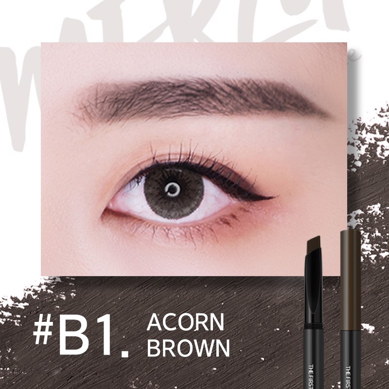 Chì Kẻ Mày Merzy The First Brow Pencil #B1