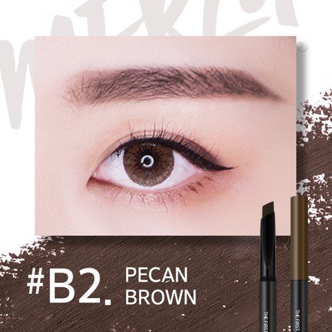Chì Kẻ Mày Merzy The First Brow Pencil #B2