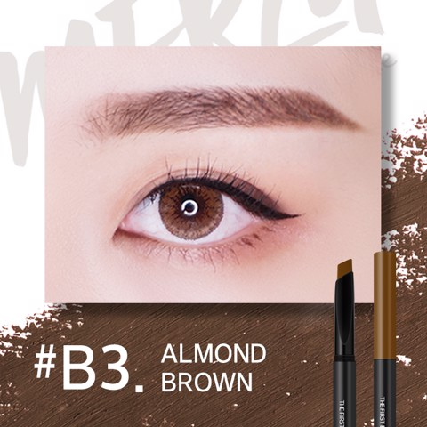 Chì Kẻ Mày Merzy The First Brow Pencil #B3