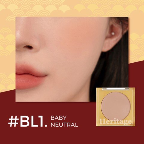 (New) Phấn Má Hồng Merzy The Heritage Blusher #BL1
