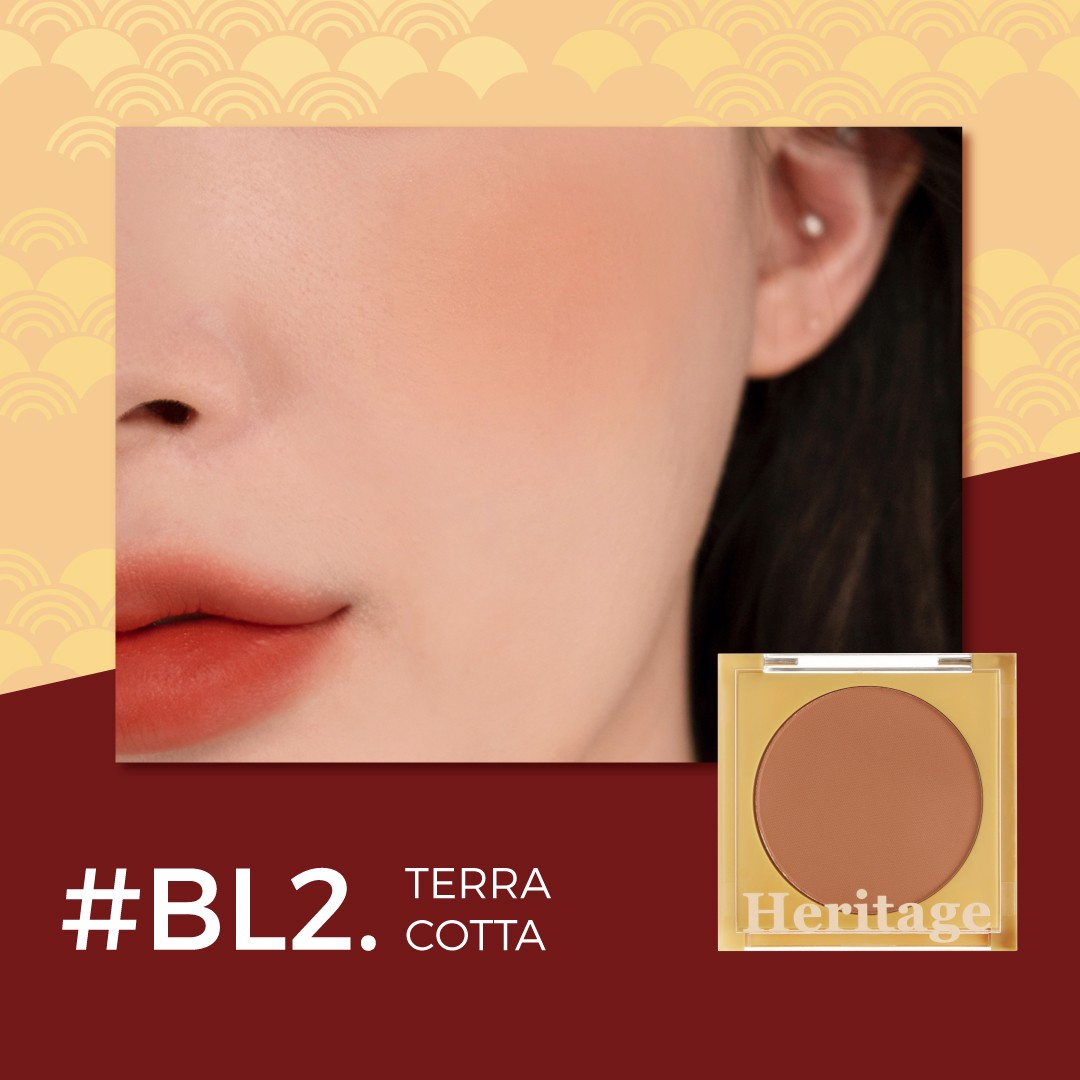 (New) Phấn Má Hồng Merzy The Heritage Blusher #BL2