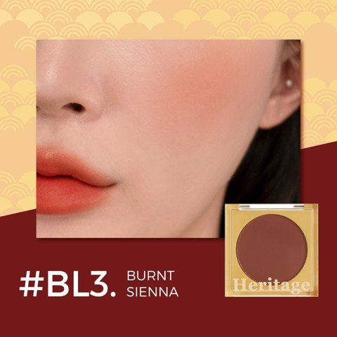 (New) Phấn Má Hồng Merzy The Heritage Blusher #BL3