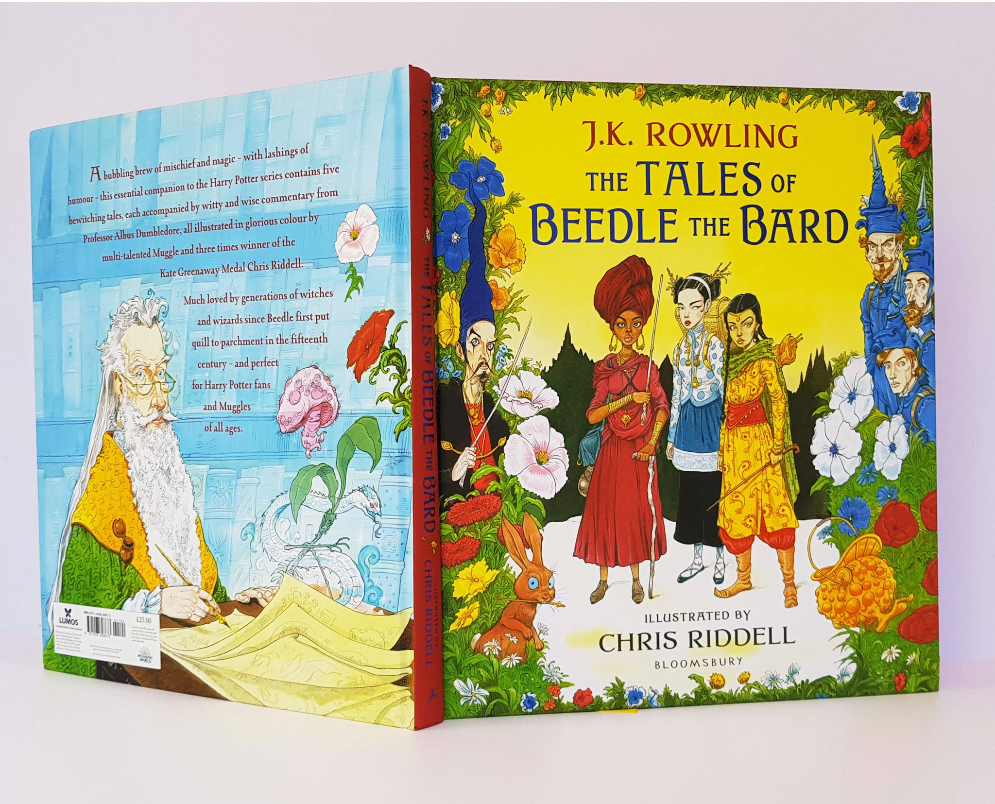 Cá Chép - The Tales of Beedle the Bard (Hardback) - Illustrated Edition