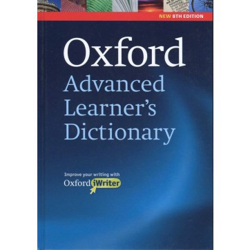 Oxford Advanced Learner's Dictionary 8TH Edition (Hardback with CD-ROM)