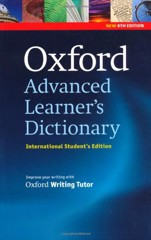 Oxford Advanced Learner's Dictionary, 8th Edition: International Student's Edition