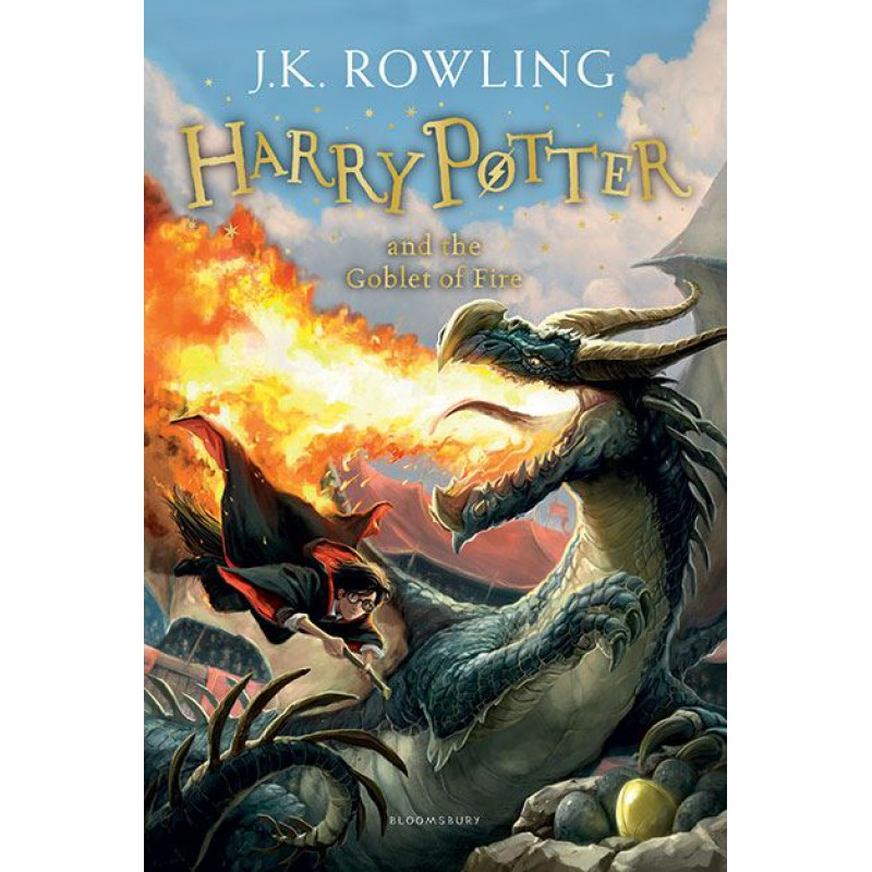 Cá Chép - Harry Potter Part 4: Harry Potter And The Goblet Of Fire (Paperback)